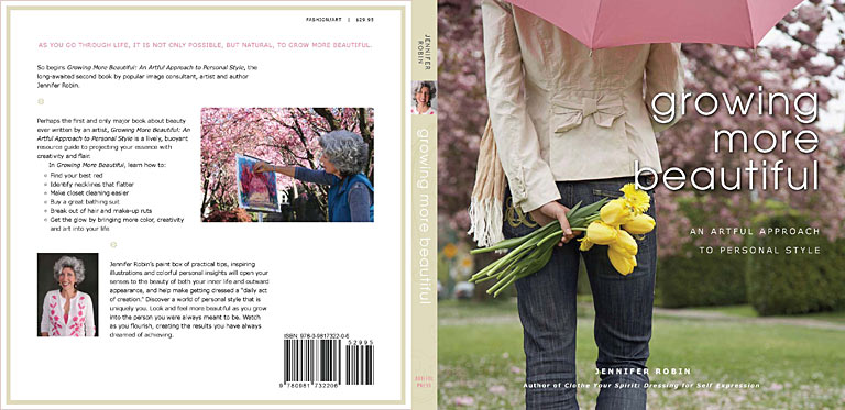 Book jacket - Growing More Beautiful