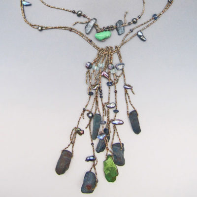 Long Necklace with Tassles