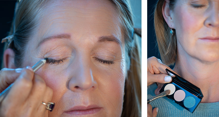 Custom makeup, makeup for mature women, makeup for older women, custom blended makeup